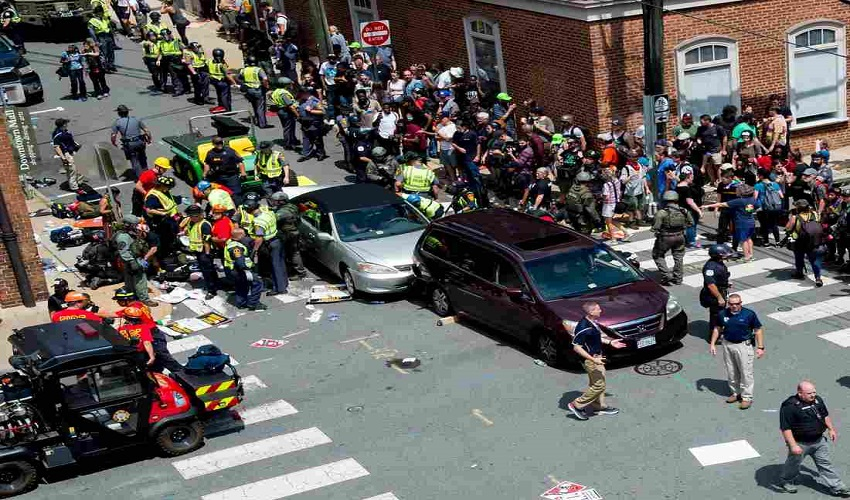 Three people dead and 35 were injured at white supremacist rally on Saturday in Charlottesville, Va.