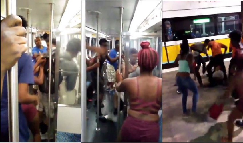 Man asked Teens to Stop Smoking and was Violently beaten on Dallas Dart Transit