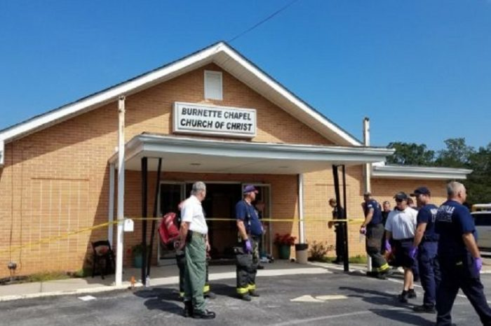 1 killed, 7 wounded in Tennessee church shooting
